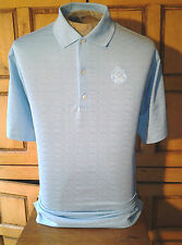 Greg Norman Play Dry Blue Golf Polo Shirt Short Sleeves Size L/G