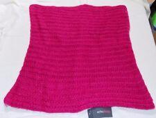 Echo Design Women's Lofty Ribbed Snood Scarf, Fuchsia, One Size