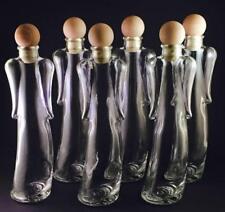 12 x 200ml Angelica Leere Glasflaschen - Schnapsflaschen - Likörflaschen