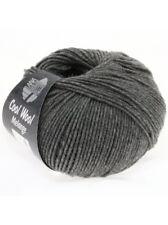 Cool Wool Merino superfein Lana Grossa Fb 412 Dunkelgrau meliert