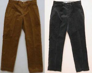 POLO RALPH LAUREN MEN'S CORDUROY DRESS PANTS SLACKS CLASSICS STRETCH FIT NEW