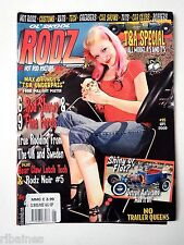 Ol Skool Rodz Aug/Sept 2009 Rockabilly/Up Girls/32 Coupe Model A/25 Ford Pick Up