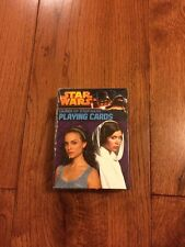 Star Wars Ladies Of Star Wars Playing Cards Deck Brand New Rare