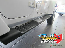 2007-2018 Jeep Wrangler Unlimited 4 Door JK Side Steps Running Boards Mopar OEM
