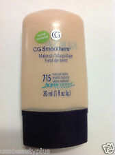 Covergirl CG Aqua Smoothers Makeup Foundation Natural Ivory #715 1 Fl Oz NEW.