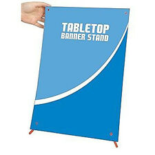 A3 Table top X banner stand