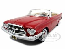 1960 CHRYSLER 300F RED 1:18 DIECAST MODEL CAR BY ROAD SIGNATURE 92748