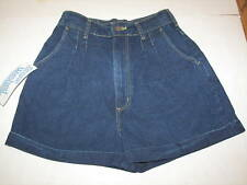 AVON FASHIONS PLEATED JEAN SHORTS MISSES 11/12 NWT