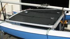 Hobie 14 Cat Catamaran Trampoline - Black Bias Cut Mesh H14 Tramp
