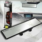 Broadway 240mm Wide Flat Interior Clip On Rear View Clear Mirror Universal