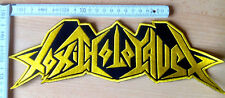 RARE TOXIC HOLOCAUST WOVEN BACKPATCH SLAYER METALLICA MEGADETH ANTHRAX KREATOR