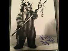 Star Wars Signed Photo - Logray