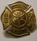 Vintage Obsolete Yorktown Heights Fire Department Commissioner Pin 9285