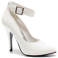 HOT-1 Women's Sexy Stiletto Heel Closed Toe Ankle Strap 5