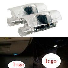 2 LED Light Shadow Projector Logo For Lexus ES IS LS LX Car Door Courtesy Laser