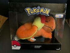 NEW Toys R Us Exclusive Pokemon Tomy Sleeping Charmander Plush Stuffed Animal