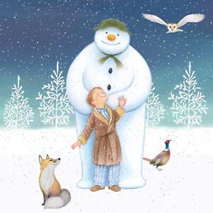 20 x Christmas Woodland Friends Raymond Briggs The Snowman Napkins 3 Ply Quality