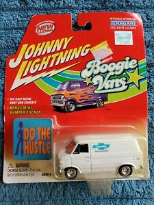 Johnny Lightning 1977 Chevy G-20 Van Boogie Vans Chevrolet Parts and Service