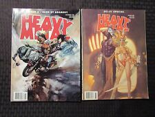 1998 HEAVY METAL Magazine Nov FVF Spring FN+ LOT of 2 Dayak 3 / Zaks Adamov