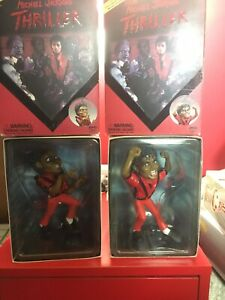 PlasticArts Michael Jackson Thriller Figures.Zombie Michael Sdcc Set Of 2 Japan
