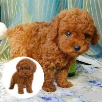Realistic Teddy Dog Lucky Puppy Toy Kids Xmas Gift