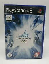 Torino 2006 - Official Video Game Of  XX Olympic Winter Games Sony PlayStation 2