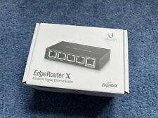 More details for ubnt ubiquiti edgerouter x 5 port gigabit firewall lan wan poe router er-x