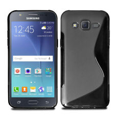 Ultra Slim Soft Wave Gel Case Soft Phone Cover For Samsung Galaxy J5 2015 + Film