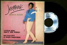 "Jermaine Jackson - Little Girl Don't You Worry - Spain Single 7"" Motown 1980"
