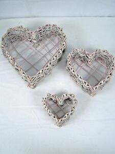 Wall Hanging Heart Wreath Wall Decor Set of 3
