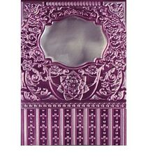 SPELLBINDERS 3D M-BOSSABILITIES EMBOSSING FOLDER FRAMED LABELS EIGHTEEN E3D-006
