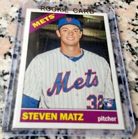 STEVEN MATZ 2015 Topps Heritage SP Rookie Card RC Logo Blue Jays 4-0 $ HOT $