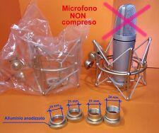 Neumann Shock Mount  Microphone  U87 U87A U89i  U47 TLM103 102  STUDIOPRO SILVER