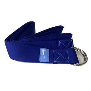 Nike Yoga Strap! Blue! Brand New! Ships From USA! Stretching and Position Band