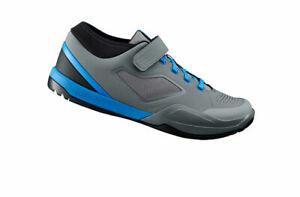 Shimano AM7 (SH-AM701) - SPD Shoes - Gray & Blue Size 5.5 New