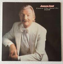 JAMES LAST ~ LEAVE THE BEST TO LAST ~ 1985 UK 25-TRACK VINYL LP RECORD