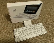Genuine Apple IPAD Keyboard 30-pin Dock for IPAD 1, 2,3 Generation (Model A1359)