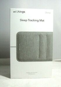 Withings Sleep Tracking Pad Under The Mattress With Sleep Cycle Analysis-sealed