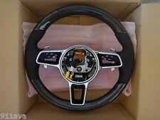 Porsche 2015 17 Cayenne Turbo OEM Porsche Neuf M F Carbone Fibre Direction Roue