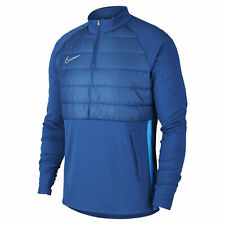 Nike Dri-FIT Academy Men's Football Soccer Drill Top Blue Size S M BQ7473-407
