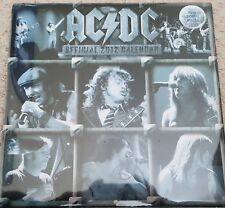 AC/DC 2012 OFFICIAL CALENDAR NEW AND SEALED