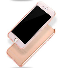 Shockproof Rubber Clear Full 360 Protective Case Cover For iPhone XS Max 8 X 6 7