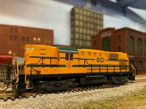 WEATHERED MAINE CENTRAL MEC HO SCALE ATLAS KATO ALCO RS11