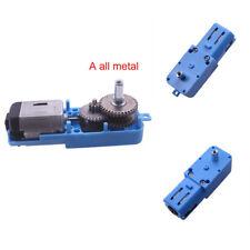 1 Paquete de metal velocidad eléctrico motor de engranajes orientado Reductor De Velocidad Eje 1:90 Nuevo