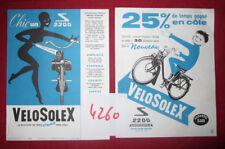 N°4260 /  prospectus VELOSOLEX 2200 illustration René Ravo 1961