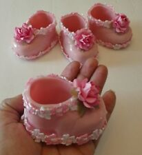 Beautiful & Unique 20pcs Baby Shower,Birthday, Baptism.Cute pink shoes for Girls