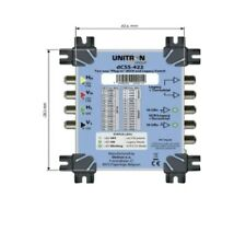 More details for unitron dcss-422 two way plug-in dscr and legacy switch with power supplies