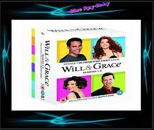 WILL AND GRACE - COMPLETE SERIES SEASONS 1 2 3 4 5 6 7 8 *** LATEST RELEASE***