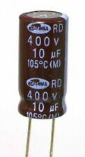 5pz CONDENSATORE ELETTROLITICO 10uF//450V VERTICALE