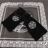 Velvet Pentagram Tarot Card Storage Bag Toy Jewelry Home Mini Drawstring Package